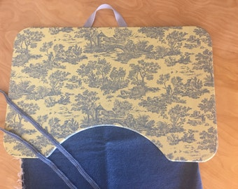 Cozy French Country Toile Large Lap Desk