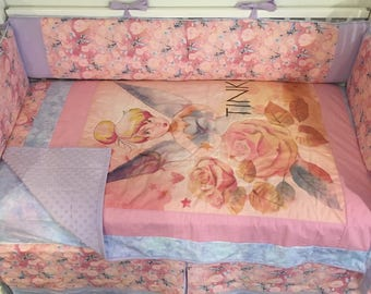 Tinkerbell Crib Mini Crib Nursery Toddler Girl Bedding Set