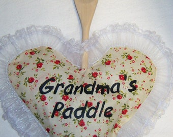 Grandma's Paddle Made By Granny