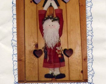 Hanging Santa Of My Dreams ~ Fantasy Father Christmas ~ Pattern ~ Sew Special