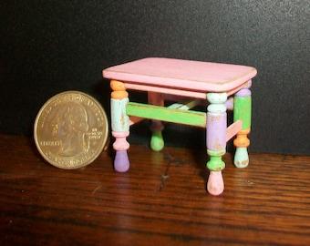 Miniature Table   1:12 scale
