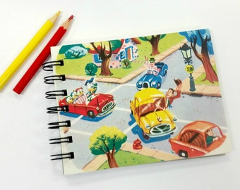 Polite Drivers, Upcycled mini notebook