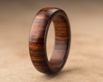 Size 7.5 - Tamboti Wood Ring No. 272