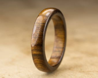 Size 9 - Tamboti Wood Ring No. 273