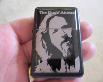 Lebowski The Dude Abides Refillable Lighter