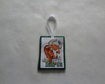 Taurus-zodiac magnet/ornament
