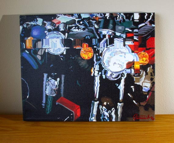 """SR GT"" Giclee on Canvas"