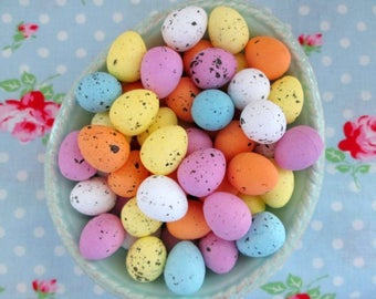 Mini Speckled Eggs - 3/4 inch - Set of 20