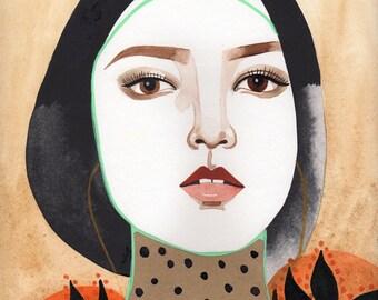 Ming / 16x20 inch print