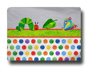 Hungry Caterpillar Comfort Bath Mat, Other Colors available, 27x18 inches - Personalize with Initial or Name