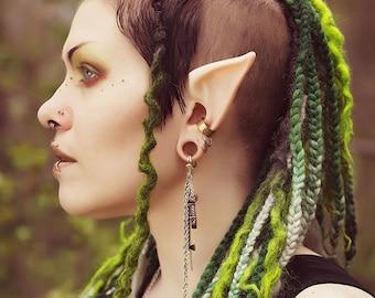 Elf Ears: Nomad Elf -- handmade, latex ear tips, great for cosplay, costumes, Halloween, Christmas