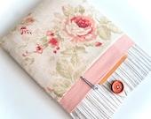 """Rosa Laptop-Tasche 11"""", 13"""", Laptopfach 15 """", Laptop Sleeve-Tasche gepolstert mit Tasche - Holz + Blumen"""