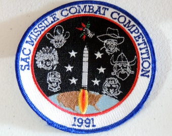 SAC Missle Combat Competition Patch 1991