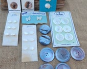 Genuine Pearl Buttons  ~  Mother of Pearl Buttons  ~  Genuine Shell Buttons  ~  Pearl Fish Shaped Buttons  ~  Pearl Dog Shaped Buttons