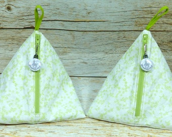 Spring Daisy - Llexical Notions Pouch - Knitting, Crochet, Spinning Accessory Bag