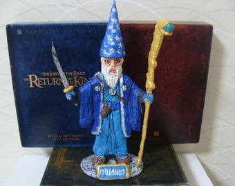 The Blue Wizard Of The Far East (6 inch range)