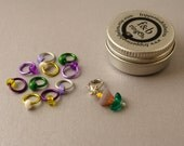 ringOs Crocus Limited Edition - Snag-Free Ring Stitch Markers for Knitting