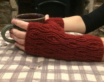 Merlot Fingerless Gloves