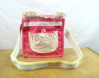 Vintage 80s 1980s My Little Pony Purse Bag Pouch -- for Sleepy Pie