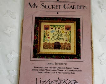 Lizzie Kate My Secret Garden Embroidery Kit, Limited Edition