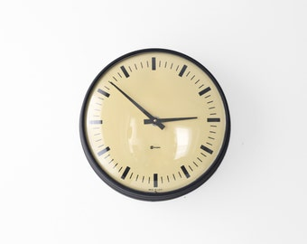 Modern Simplex Wall Clock .01 - Vintage Industrial Decor - Thick Frame