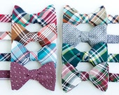 Bow Ties, Bow Tie, Bowties, Mens Bow Ties, Freestyle Bow Ties, Self-Tie Bow Ties, Ties, Plaid Bowties, Plaid Ties - Fall/Winter Collection
