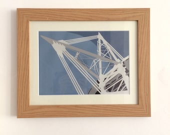 Millennium Stadium- Giclee print from original papercut art