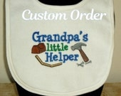 Custom order for Alicia- Grandma's Little Garden Helper