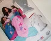 Mermaid Shark Slip in Blanket Adult , Child and Doll/ NEW