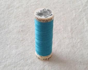 Parakeet Blue Gutermann Sew-All Polyester Sewing Thread