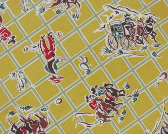 Western/Cowboy Fabrics- Layer Cake Set 40-All Kinds/Colors Western/Cowboy Related Prints for Quilts, CLothing, Tote Bags, Mixed Media