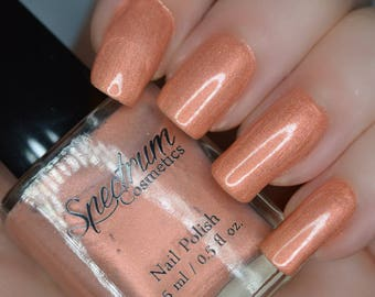 RUMOR Peach Shimmer Nail Polish