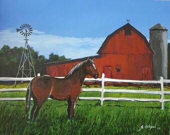 Kettles Morgan Horse
