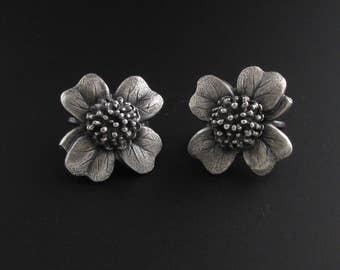 Four Leaf Clover Earrings, Irish Earrings, Lucky Earrings, Flower Earrings, St. Patrick's Day Earrings, Good Luck Jewelry