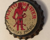 Pluto Water Cork Lined Bottle Cap America's Physic French Lick Indiana