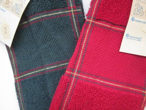 Charles Craft Towels Cross Stitch