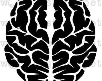 Brain Stencil
