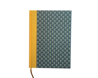 Large Weekly Planner 2018, DIN A5 emerald green yellow olive agenda,