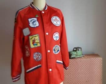 1970's auto club jacket