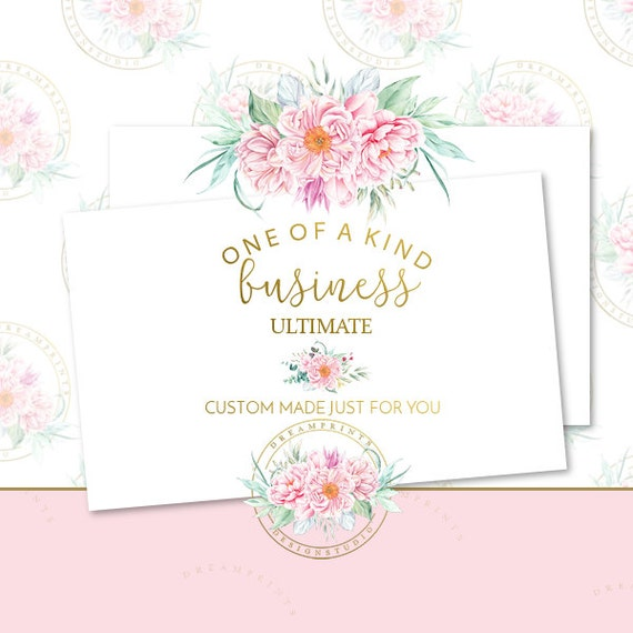Custom-One Of A Kind Ult. Branding Set | Business Branding | Business Package | Etsy Shop | Small Business | Etsy Graphics | Etsy Designs
