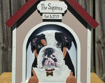 Wedding Card Box Dog House for Large Wedding or Other Events