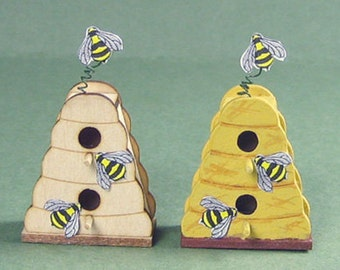 Beehive Birdhouse Kit 1:12 Scale