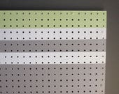 pegboard organizer - Outline - modern decor – acrylic on pegboard - home décor - wall art -  functional artwork