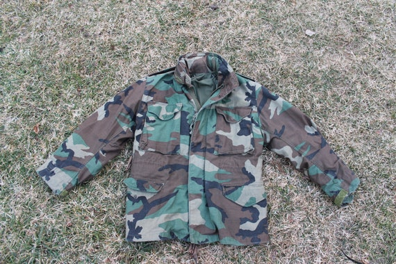 vintage US Military M65 field jacket, Size small
