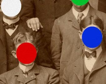 Colored Men #1, 11x14 print