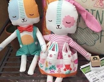 Spring Bunny Fun Panel