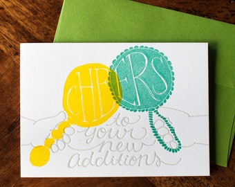 Cheers to your New Additions - Card