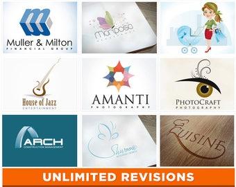 Logo Design, Photography Logo, Premade Logo, Business Logo, Branding Logo, Custom Logo, Graphic Design, Watercolor, Realty Logo, Medical, .