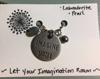 Imagine Charm Necklace