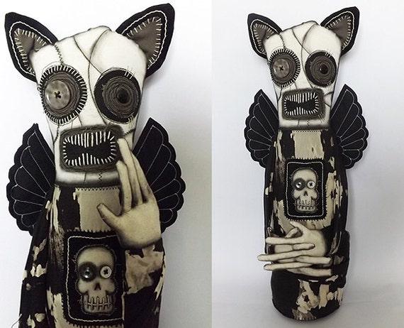Gothic Horror Doll Gothic Art Doll